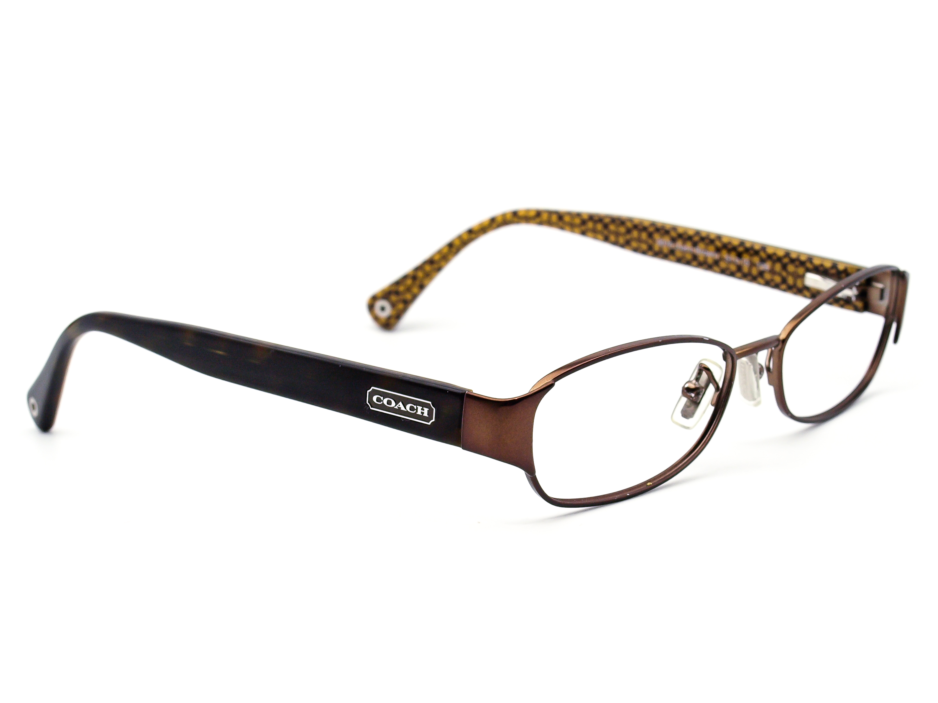 Coach HC 5018 Rose 9076 Satin Brown  Eyeglasses