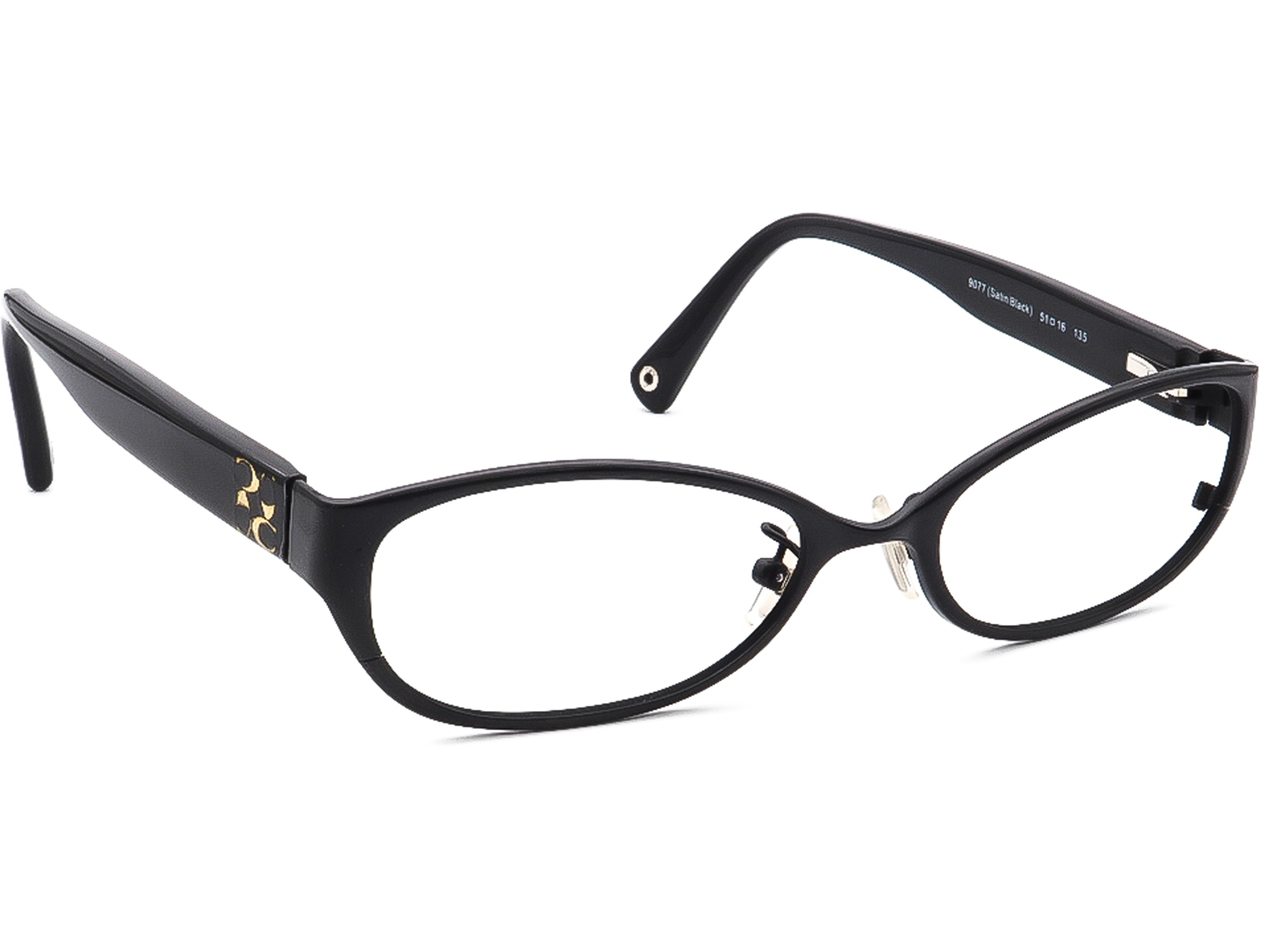 Coach HC 5029 Ashby T 9077 Satin Black Eyeglasses