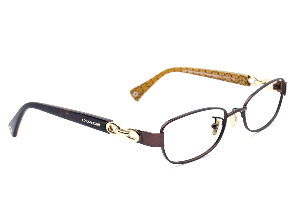 Coach HC 5054 Faina 9187 Satin Brown/Dark Tortoise  Eyeglasses