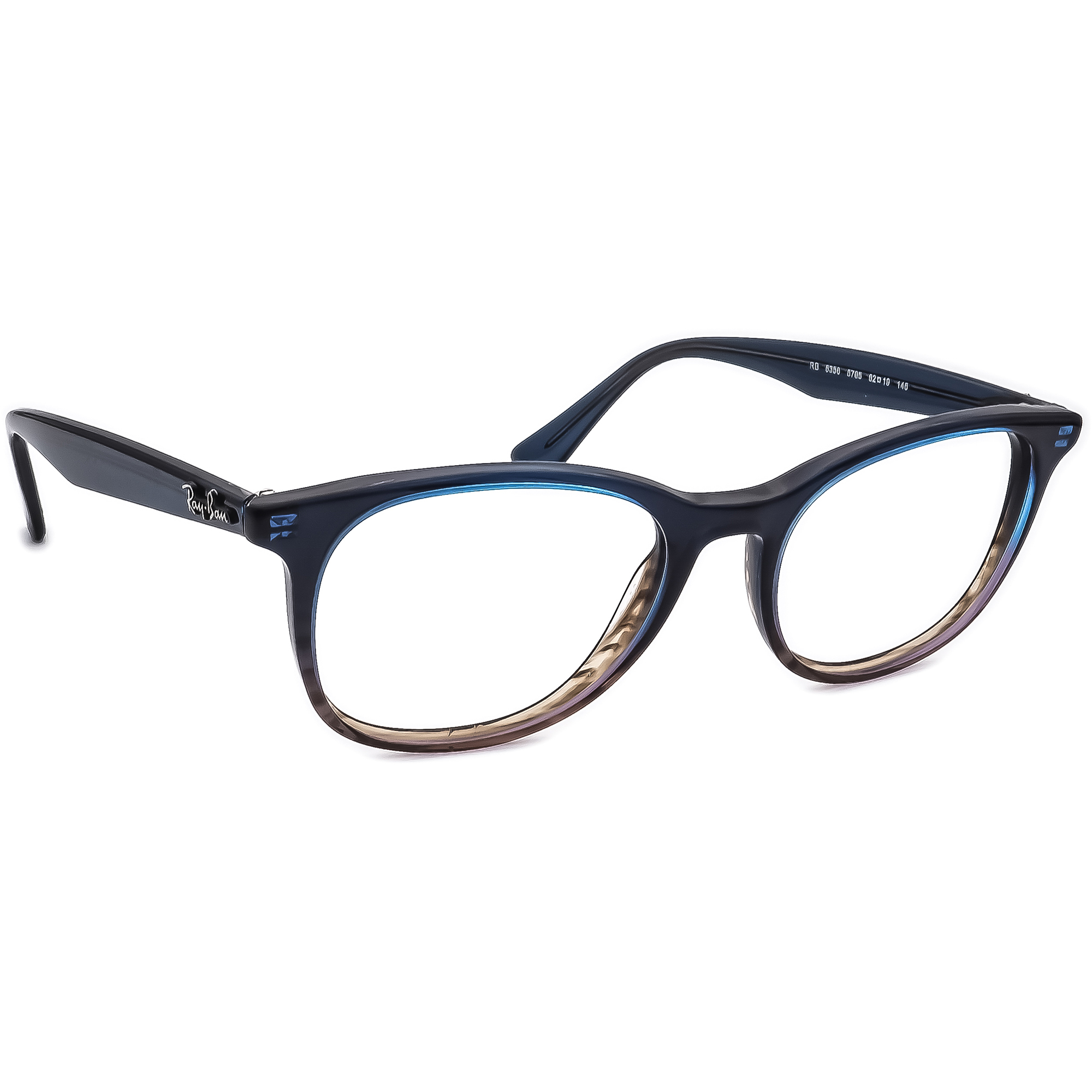 Ray Ban Eyeglasses RB 5356 5765 Blue Gray Fade Other Shape Frame 52[]19 145