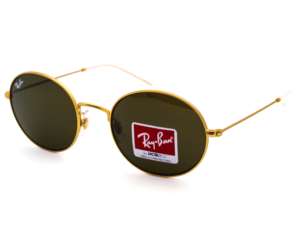 Ray Ban RB 3594 9013/73 3N Matte Gold Sunglasses