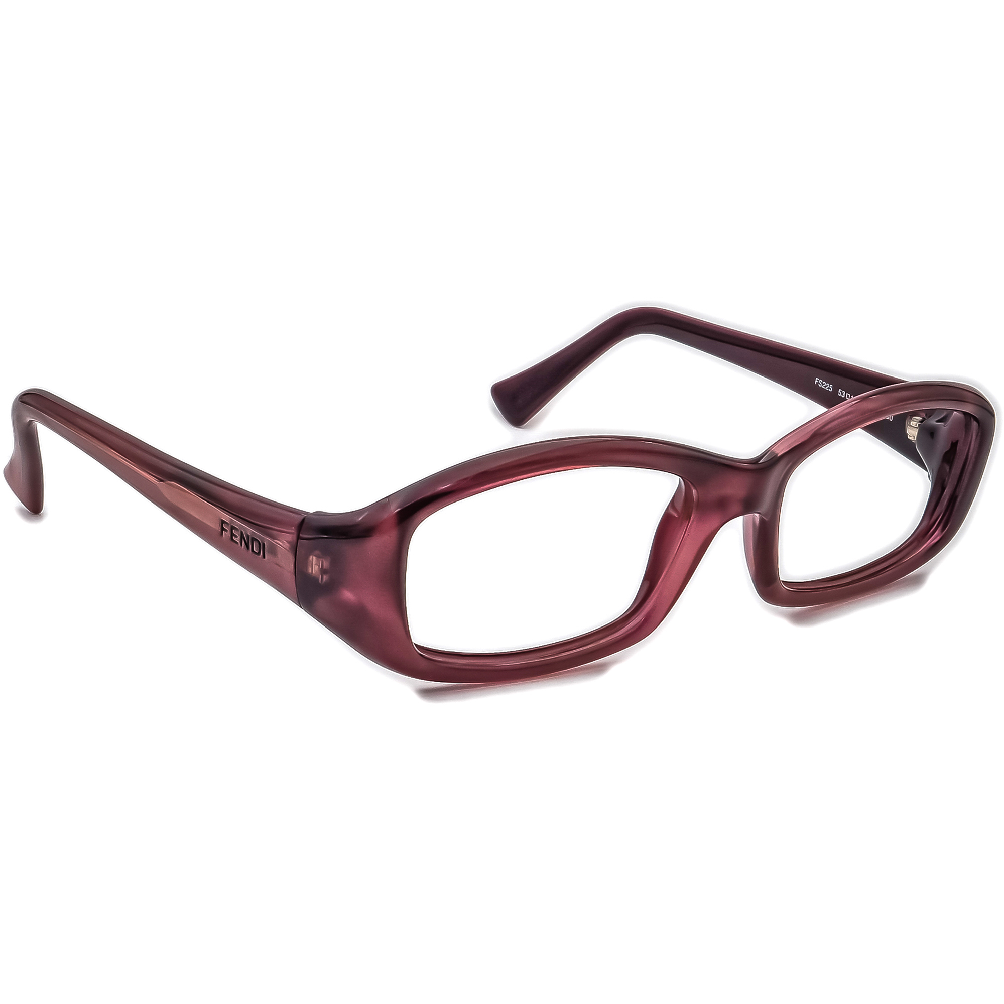 Fendi FS225 Plum Sunglasses Frame Only