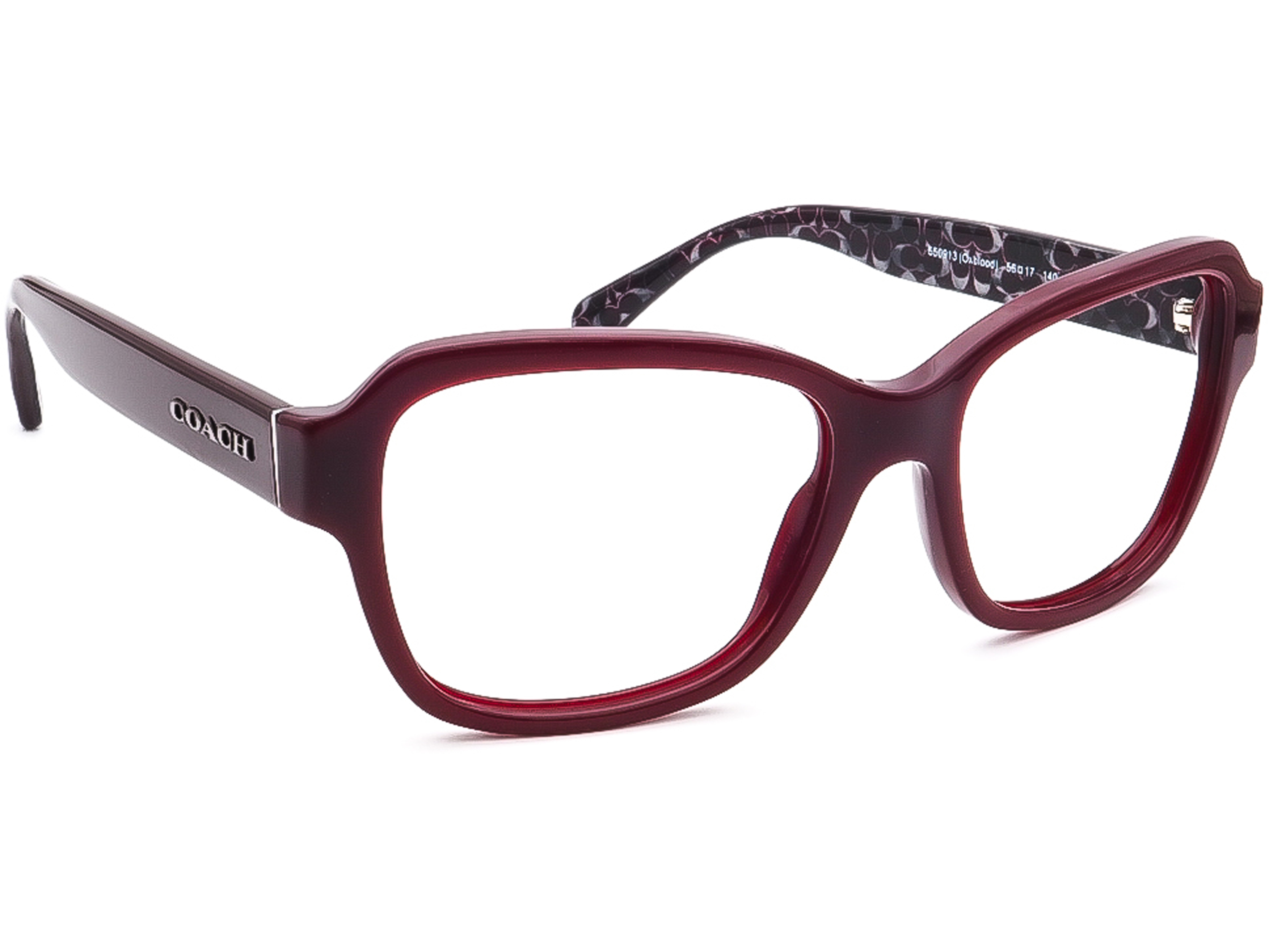 Coach HC 8232 L1010 T 550913 Oxblood Sunglasses Frame Only