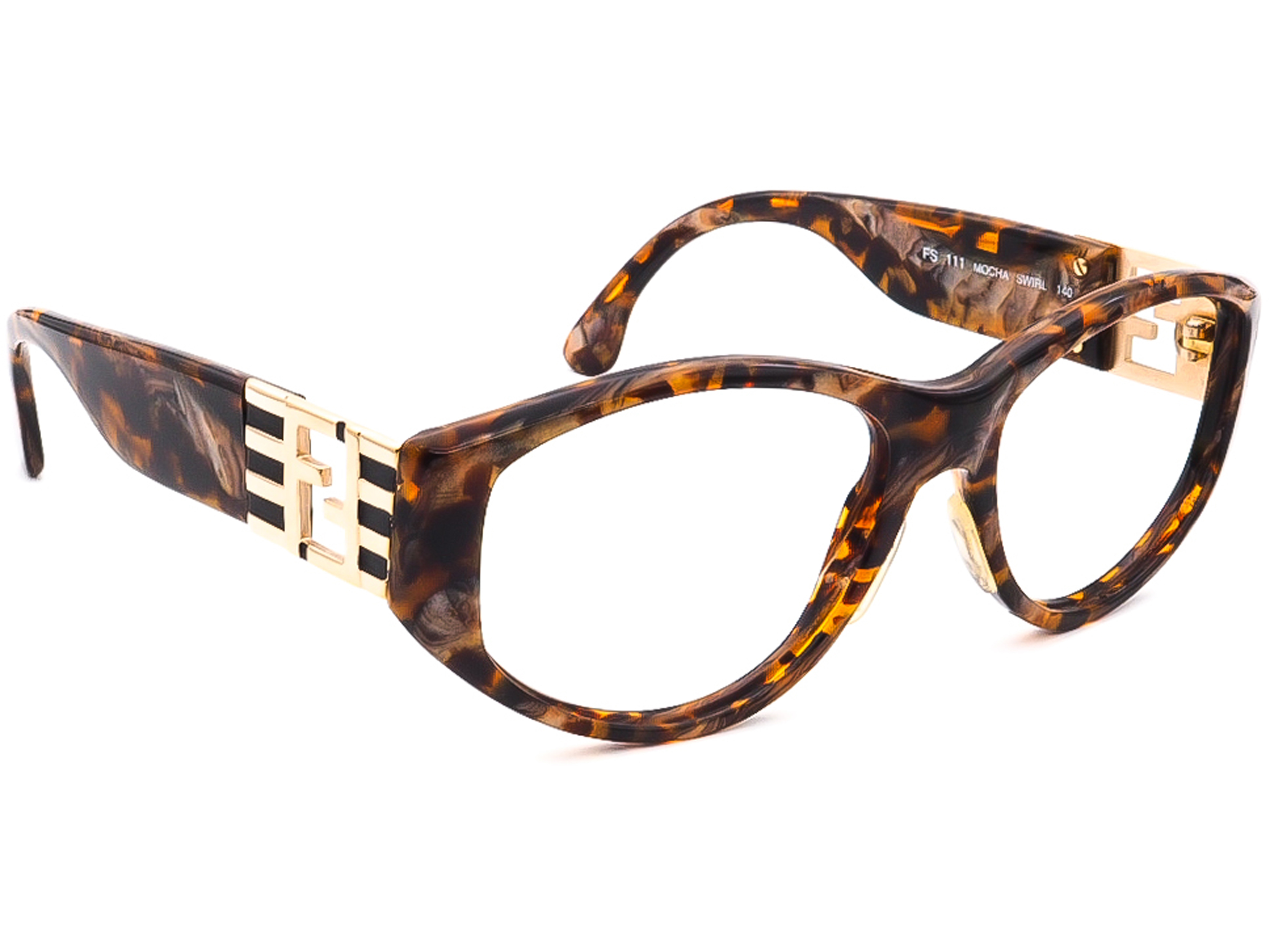 Fendi FS 111 Mocha SWIRL Sunglasses Frame Only