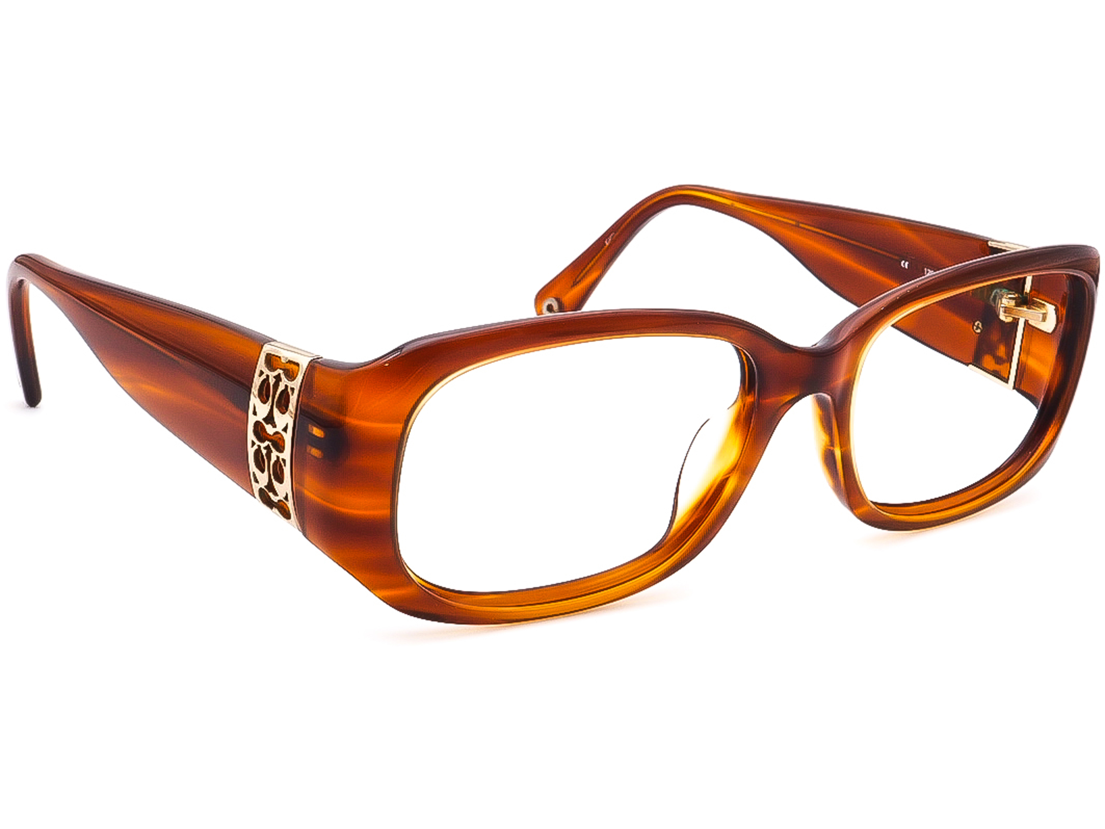 Coach Bronwen S829 Amber Horn Sunglasses Frame Only