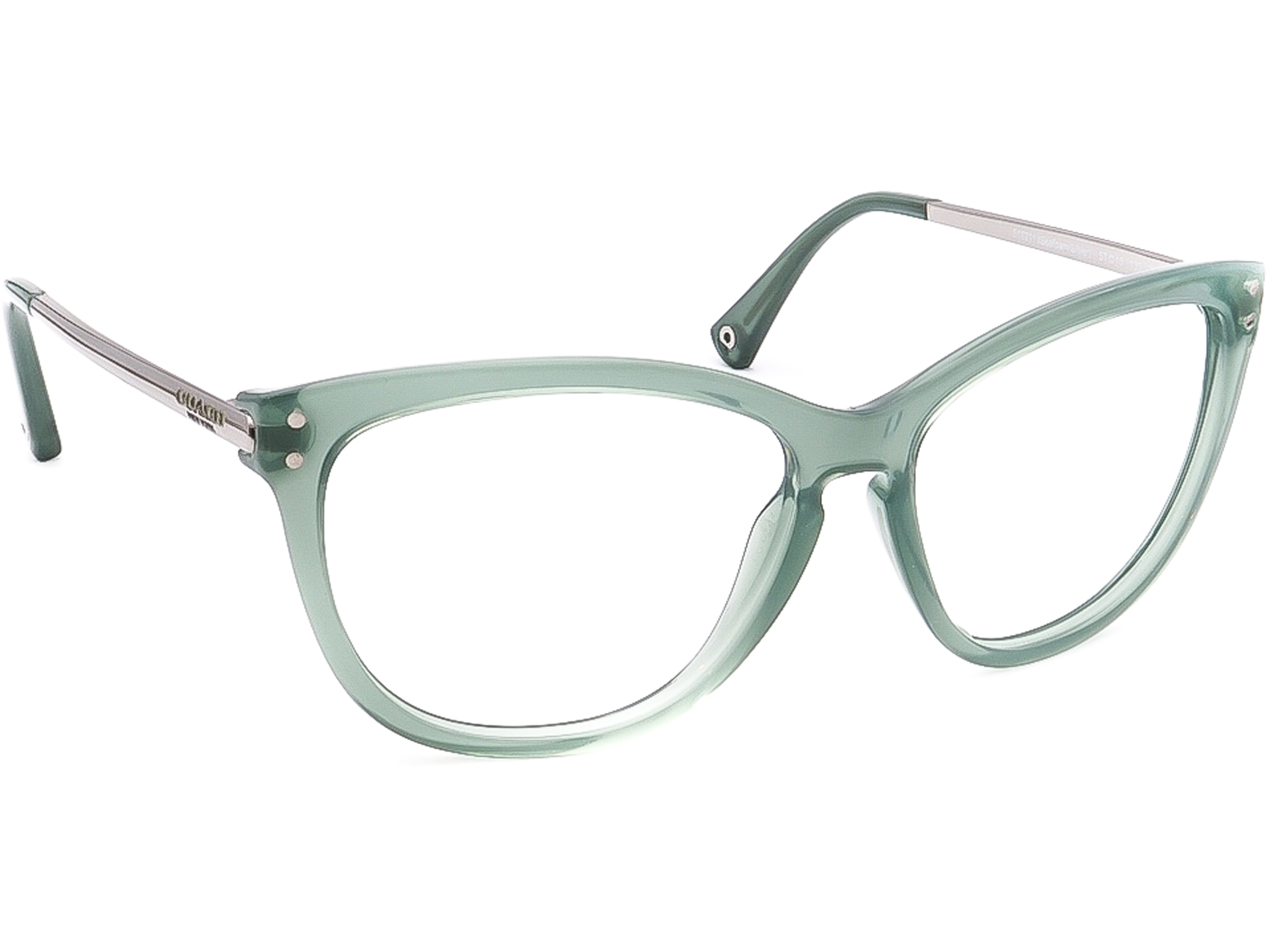 Coach HC 8084 L072 Celia 518211 Seaform/Silver Sunglasses Frame Only