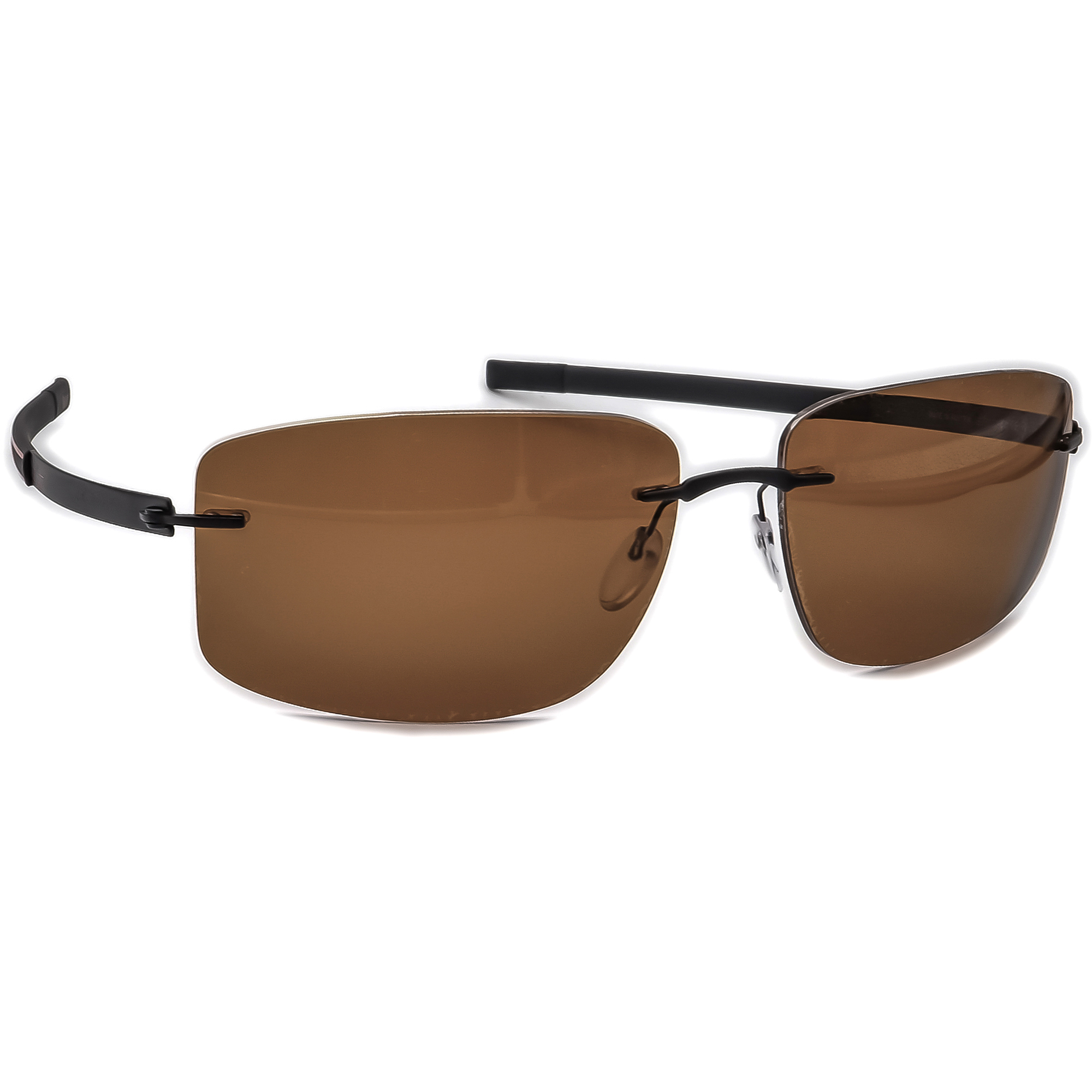 Silhouette 8653 50 6200 Titan Sunglasses Frame Only