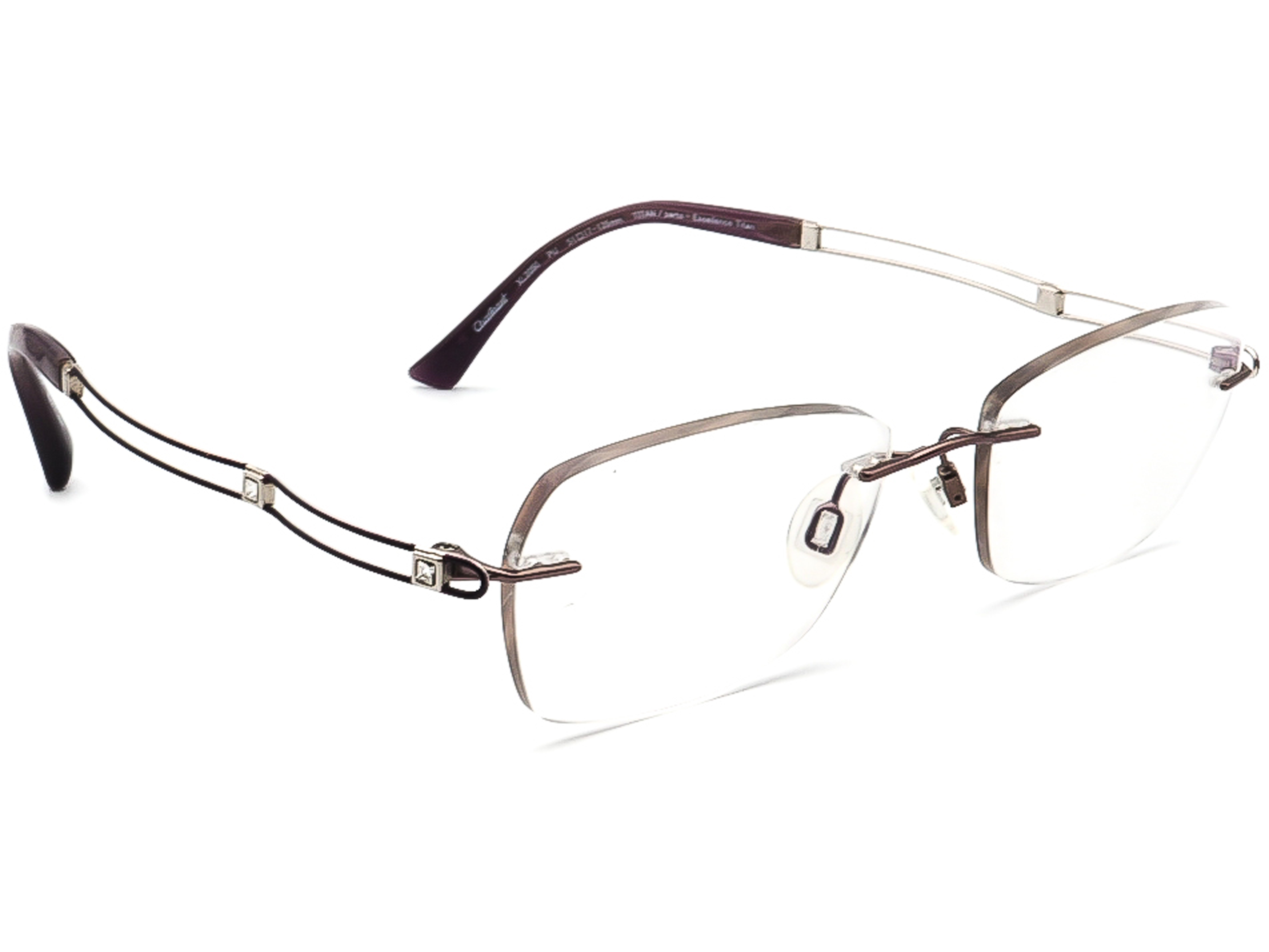 Charmant XL2050 PU Titan Line Art Eyeglasses