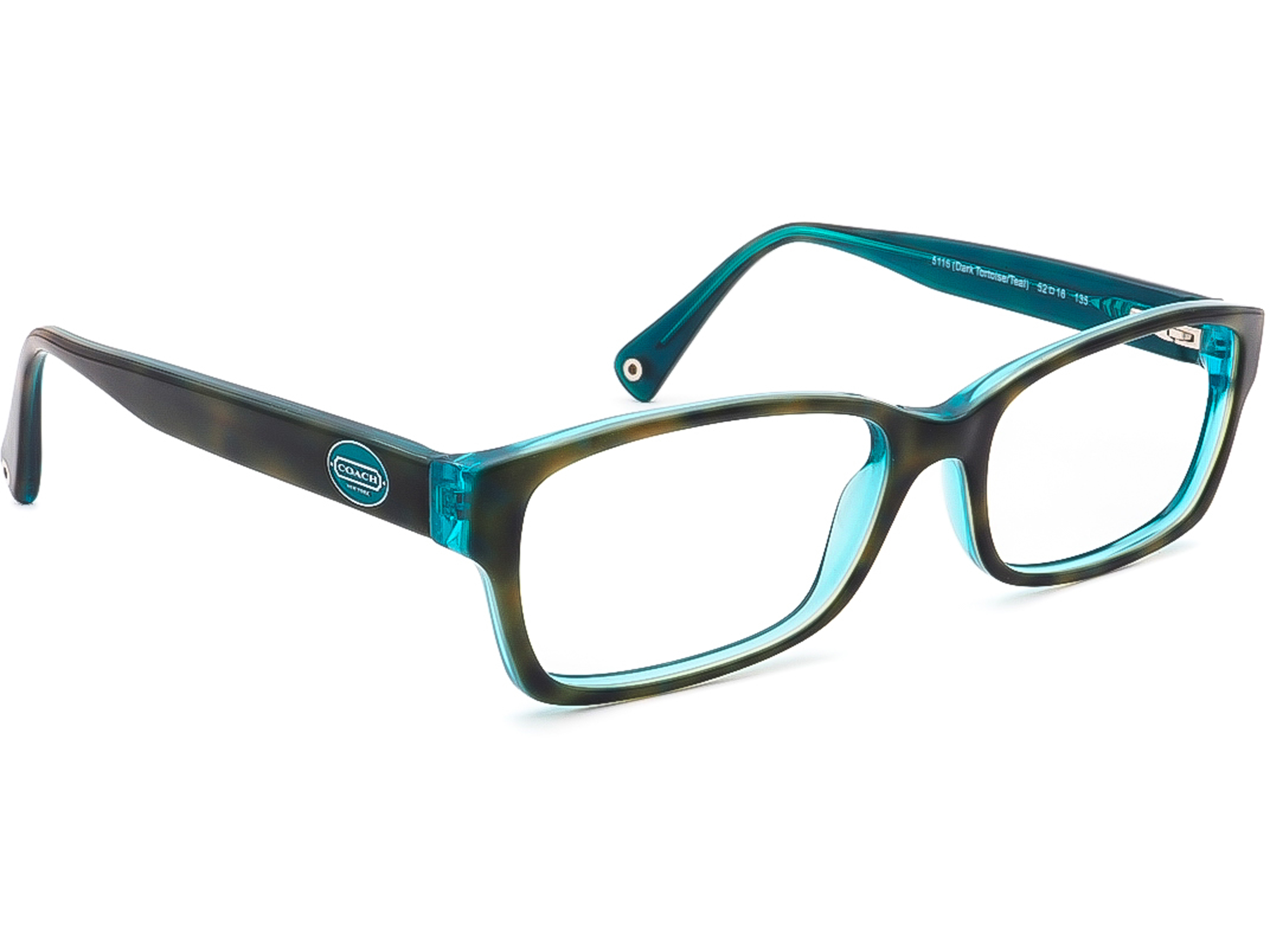 Coach HC 6040 Brooklyn 5116 Dark /Teal Eyeglasses