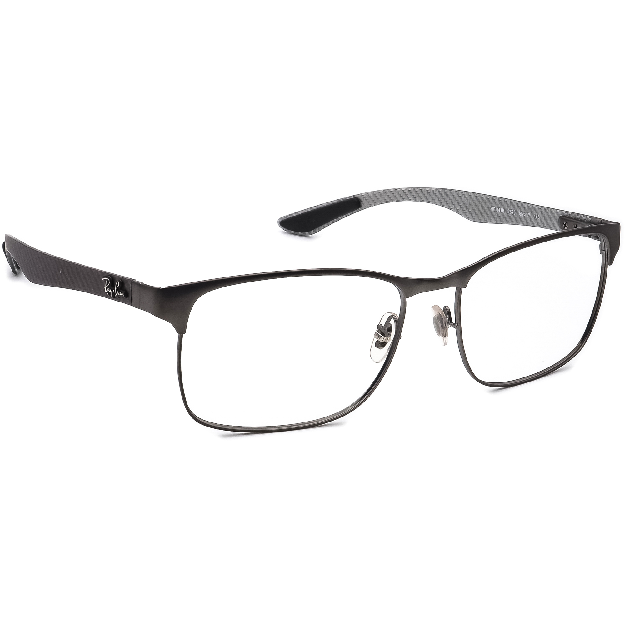 Ray Ban RB 8416 2620 Carbon Fiber Eyeglasses