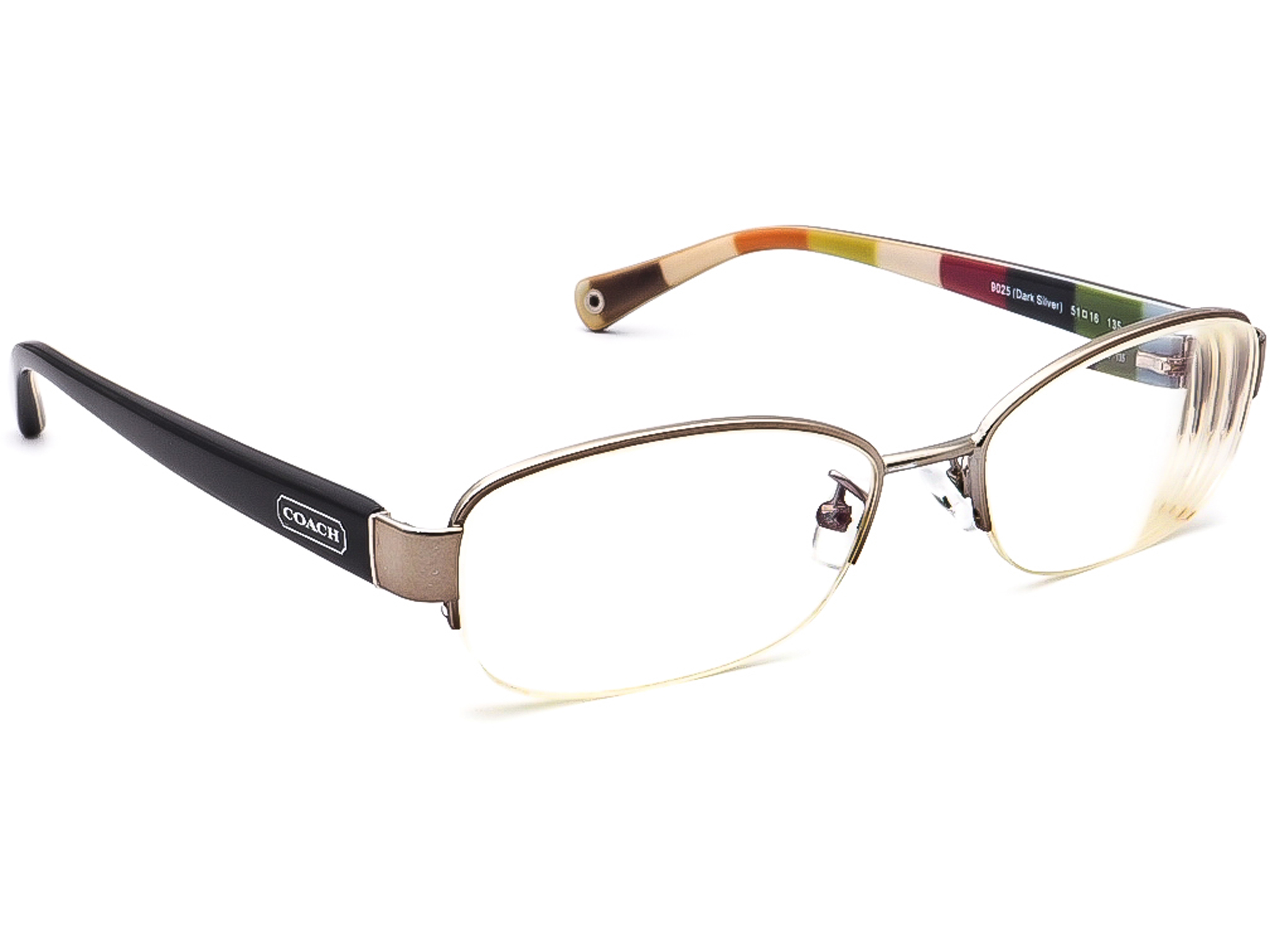 Coach HC 5004 Bettie T 9025 Dark Silver Eyeglasses