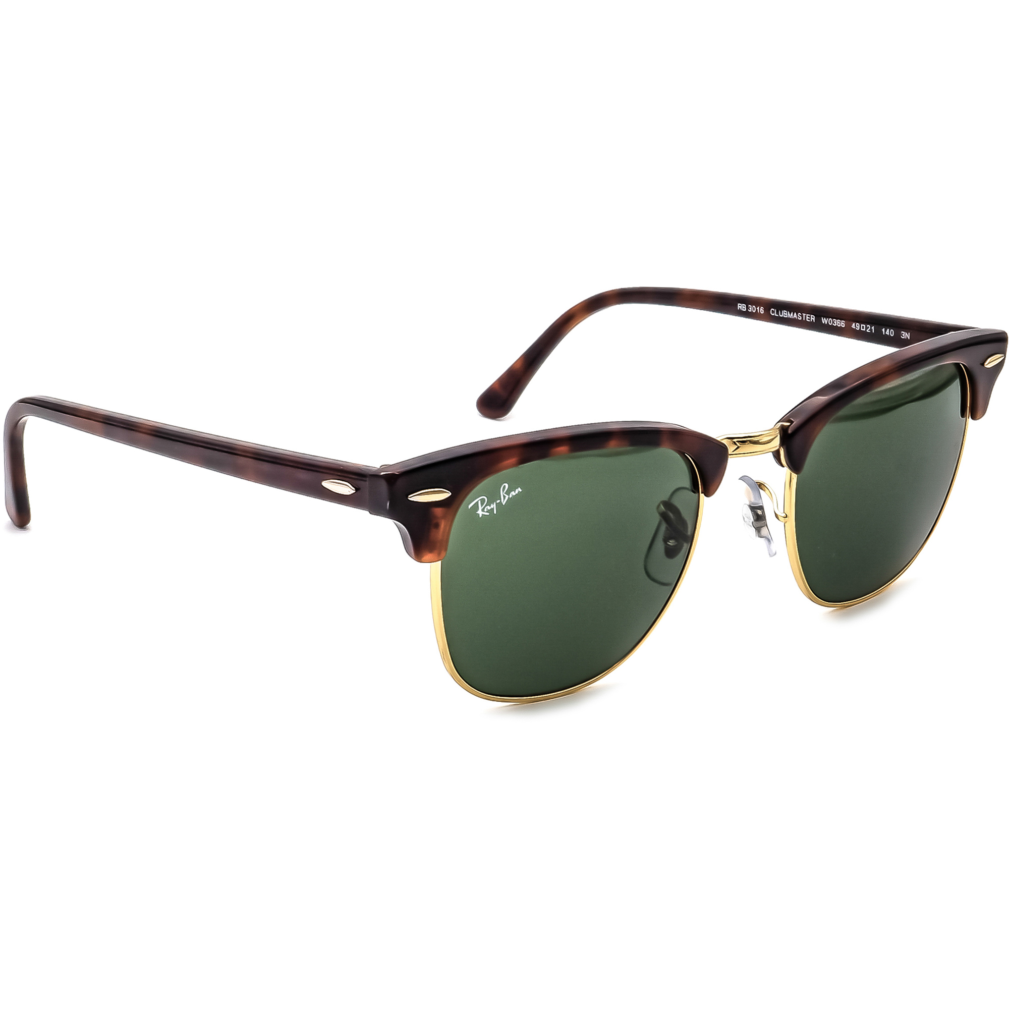 Ray-Ban RB 3016 Clubmaster W0366  Sunglasses