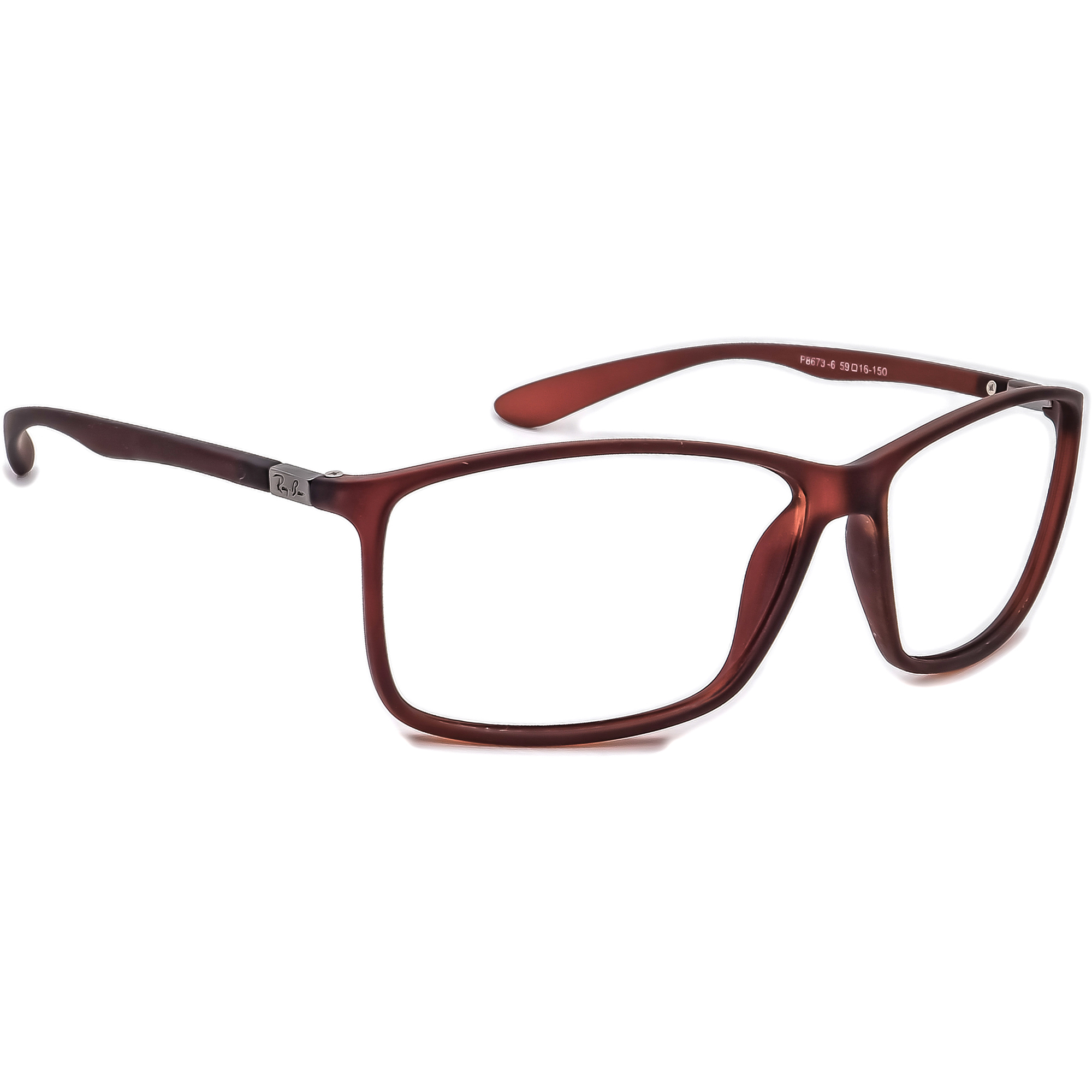 Ray-Ban P8673-6 Sunglasses Frame Only