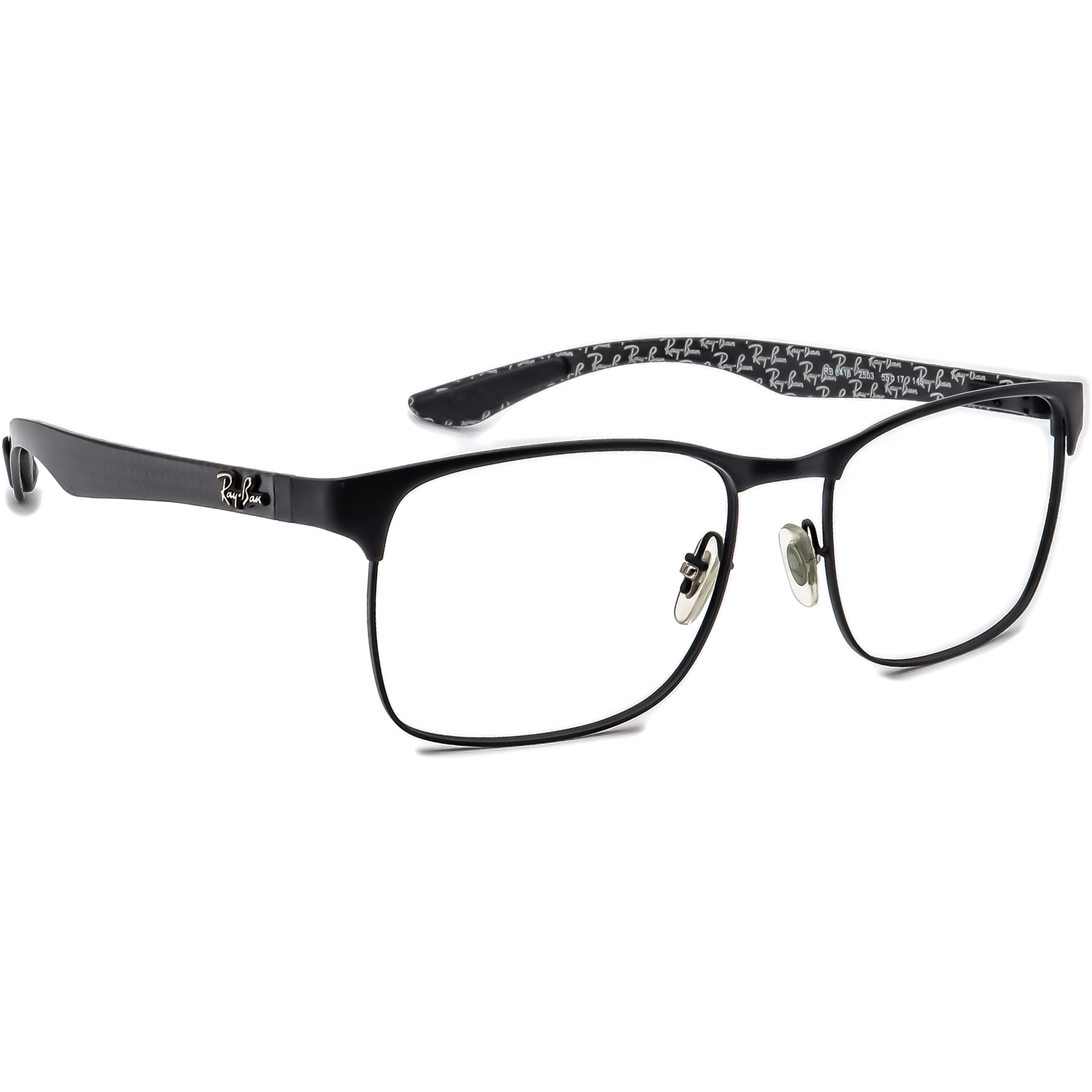 Ray-Ban RB 8416 2503 Carbon Fiber Eyeglasses