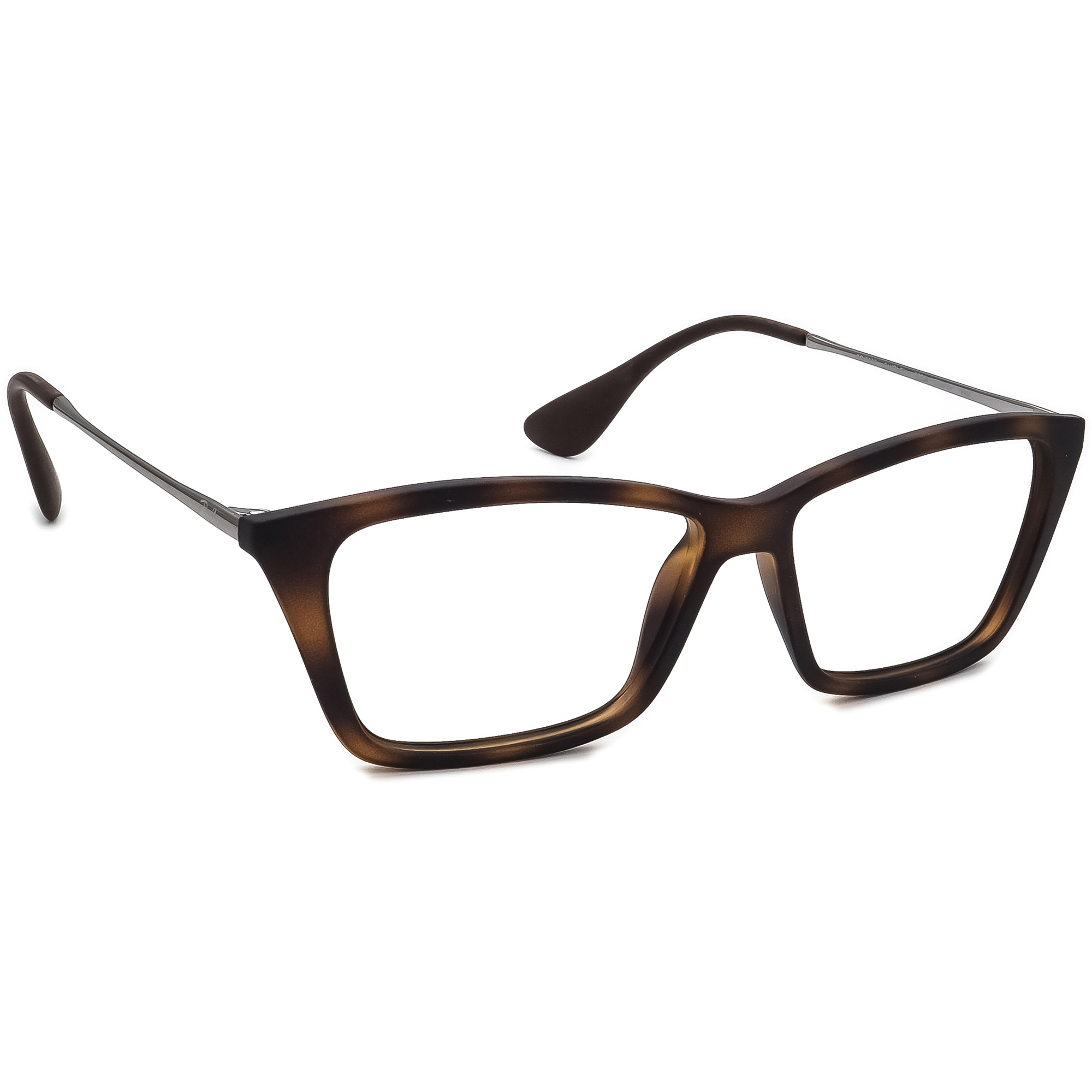 Ray Ban Eyeglasses RB 7022 Shirley 5365 Matte Tortoise Brown Frame 52[]14 140