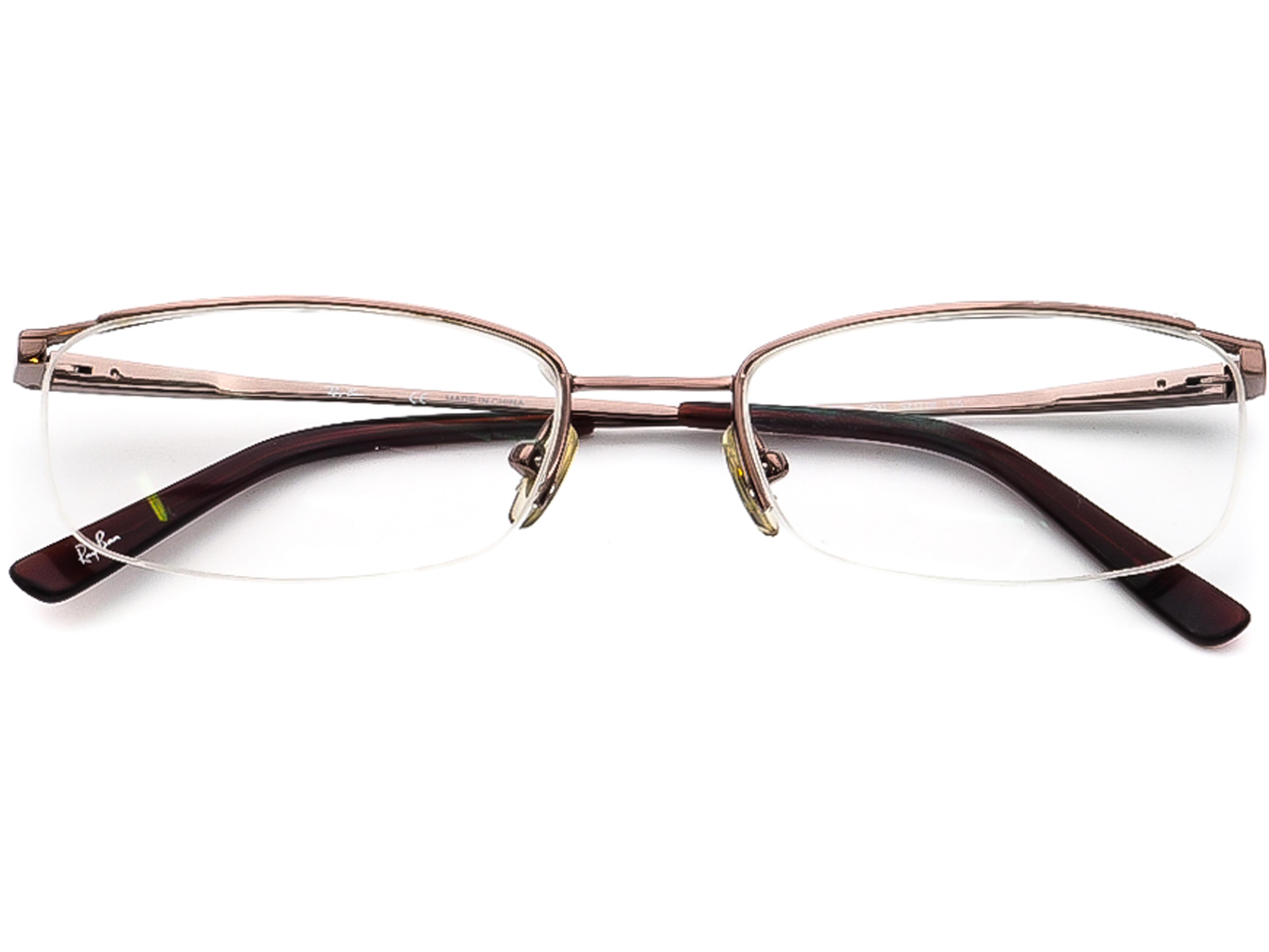 Ray-Ban Eyeglasses Frames RX6489 2531 58MM Light Brown