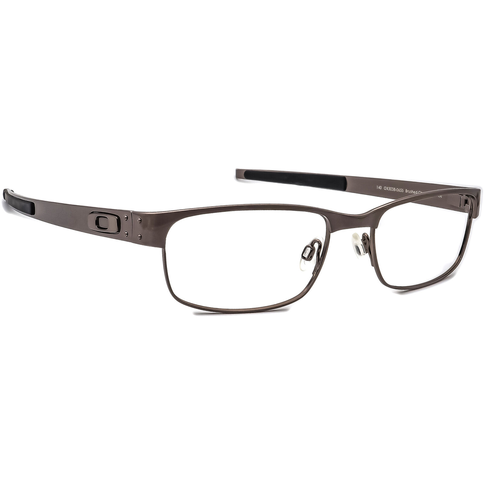 Oakley OX5038-0655 Metal Plate Brushed Chrome  Eyeglasses