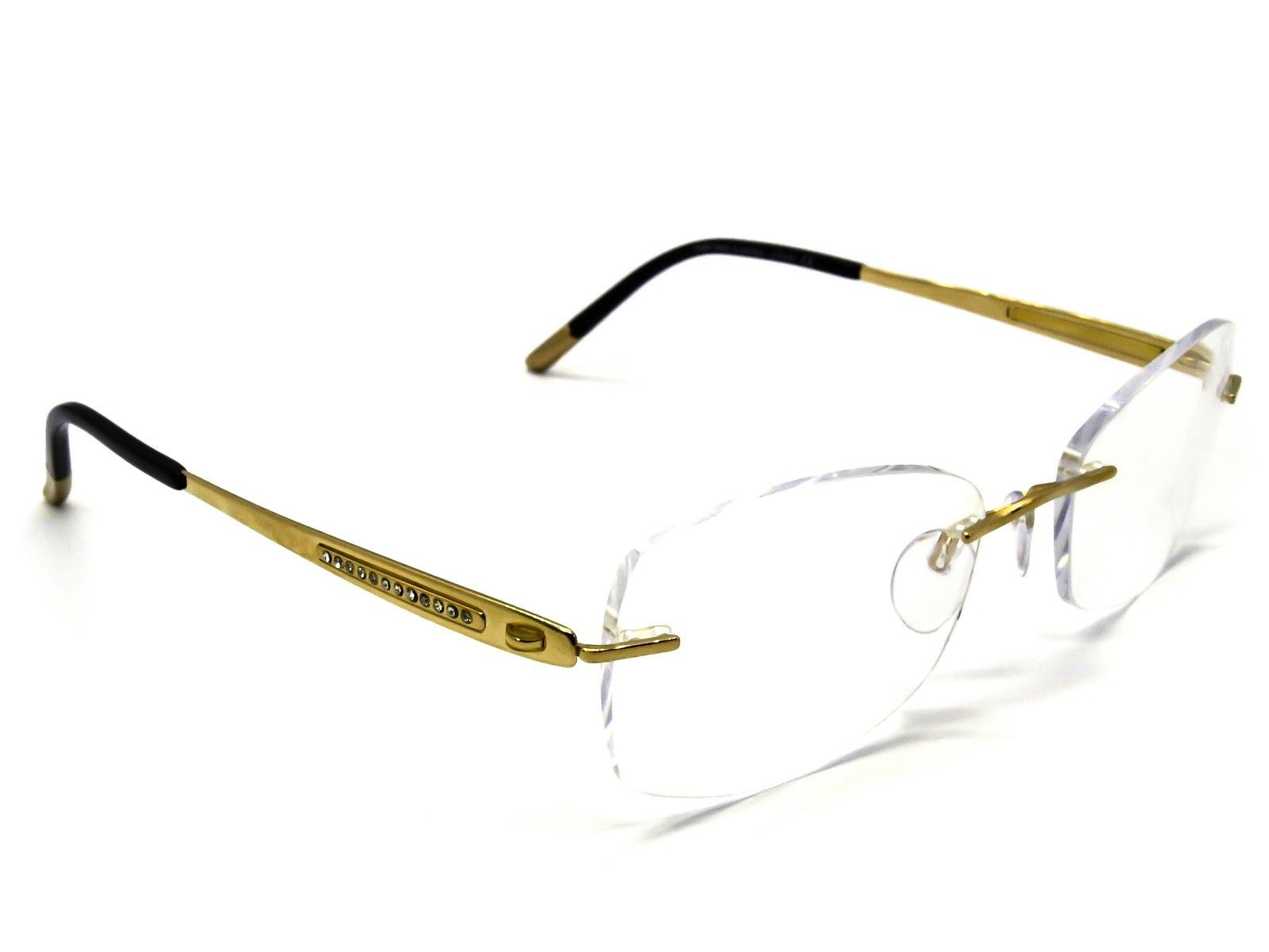 Silhouette  4426 20 6051 23K Gold Plated Eyeglasses