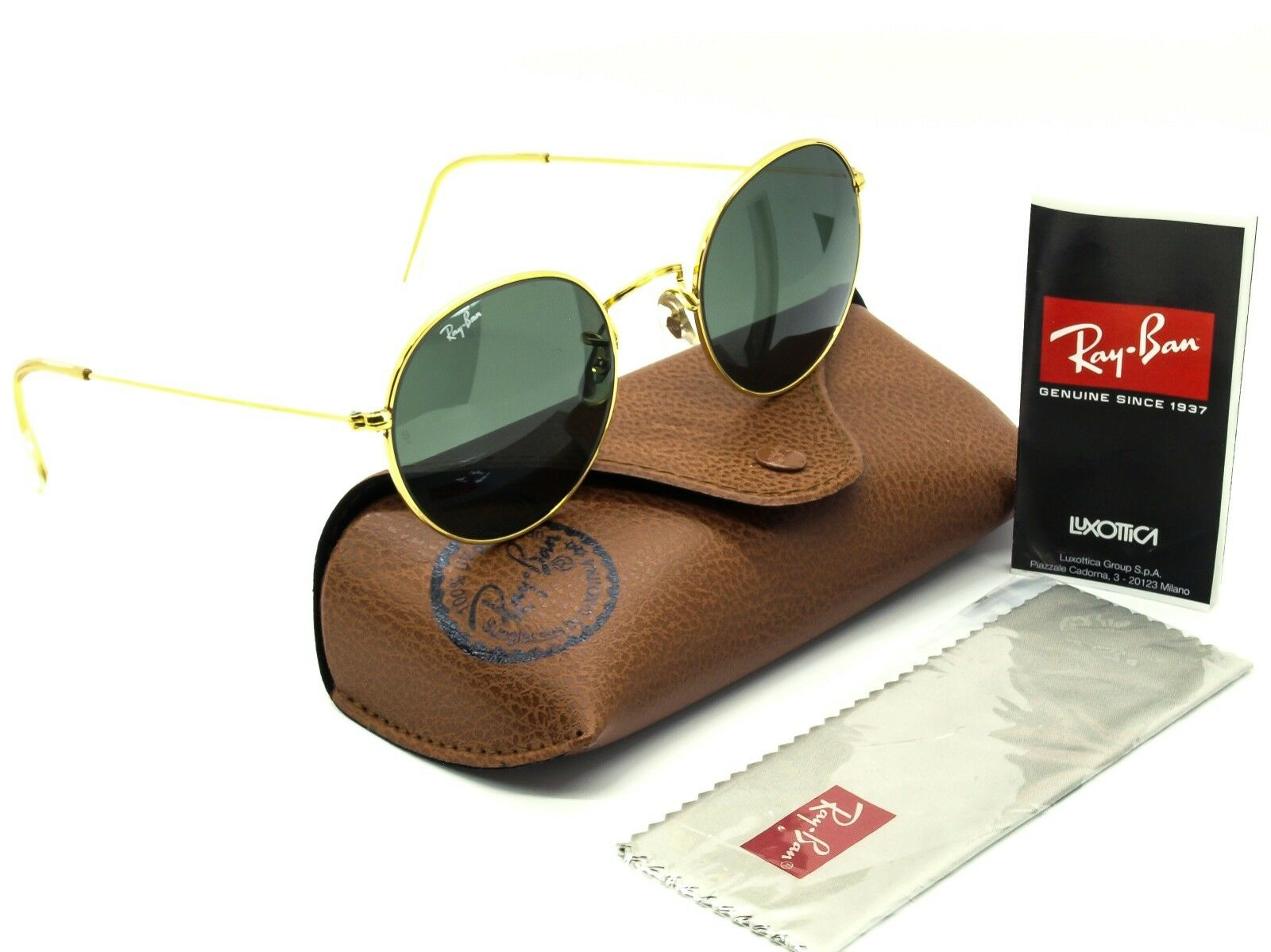 Ray Ban RB 3016 Clubmaster W0365 3N Sunglasses