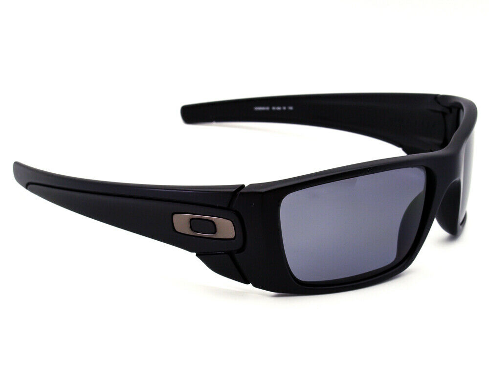 Oakley Sunglasses Fuel Cell OO9096-05 Black Rectangular USA 60[]19 130 Polarized