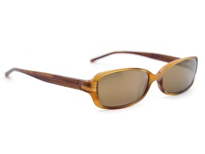 Coach Abbi 544 Blonde Tortoise Mirrored  Sunglasses